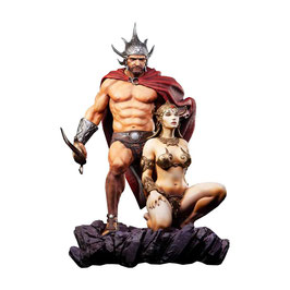 The Swordsman of Mars 1/4 Frazetta Legacy Series Statue 53cm Level52