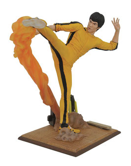 Bruce Lee Kickin Gallery 25cm Büste Statue Diamond Select