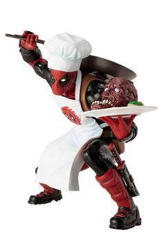 Cooking Deadpool 1/10 Marvel Comics 14cm Statue ARTFX+ Kotobukiya