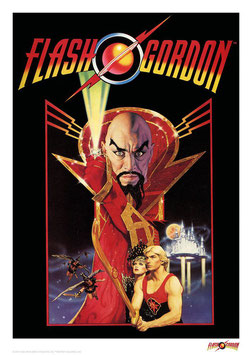 Flash Gordon Classic 42 x 30cm - ungerahmt Art Print Fanatik