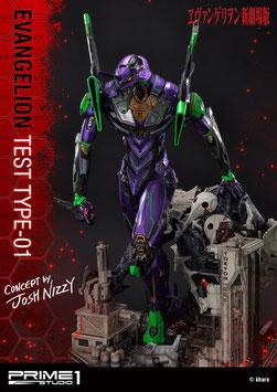 Test Type-01 Concept by Josh Nizzi Neon Genesis Evangelion Eva Anime Statue 68cm Diorama Prime 1 Studio