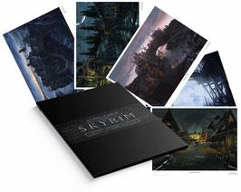 The Elder Scrolls - Skyrim 5er-Set 35 x 28cm - ungerahmt Art Print Fanatik