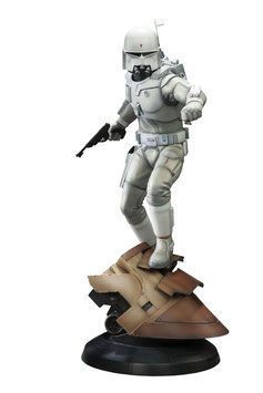 Boba Fett 1/5 Star Wars Concept Artist Series Ralph McQuarrie 47cm Statue Sideshow