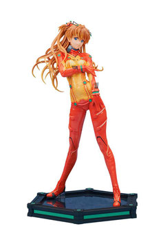 Asuka Shikinami Langley Test Plugsuit Ver. 1/4 Neon Genesis Evangelion 2.0 You Can (Not) Advance 39cm Anime Statue Bellfine