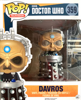 "Davros  6"" Super Sized Funko Pop! Doctor Who Television Vinyl Figur 15cm"