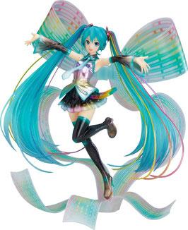 Hatsune Miku 1/8 Character Vocal Series 01 10th Anniversary Version Memorial Box Anime Statue 27cm Good Smile