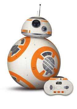 Interaktiver BB-8 Star Wars Episode VII RC Fahrzeug mit Soundfunktion 40cm Thinkway Toys