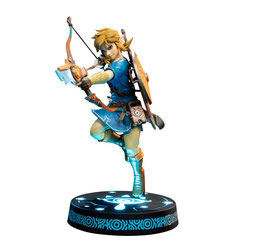 Link Collector's Edition The Legend of Zelda Breath of the Wild Video Game Statue 25cm Led beleuchtet First 4 Figures
