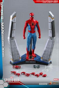 Spider-Man (Spider Armor MK IV Suit) 1/6 Marvel's Spider-Man Video Game Masterpiece Actionfigur 30cm Hot Toys