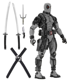 Deadpool X-Force Dusty 1/4 Deadpool Marvel Comics Actionfigur 45cm Neca