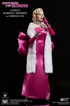 Marylin Monroe Pink Dress Lorelei Lee 1/6 Actionfigur 29cm Star Ace