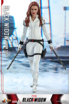 Black Widow Snow Suit Version 1/6 Black Widow Marvel Movie Masterpiece Actionfigur 28cm Hot Toys