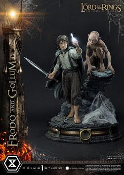 Frodo & Gollum Bonus Version 1/4 Herr der Ringe Statue 46cm Prime 1 Studio