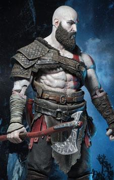 Kratos 1/4 God of War Game Actionfigur 46cm Neca