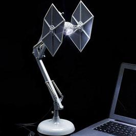 Tie Fighter Schreibtischlampe Star Wars USB Leuchte 60cm Paladone