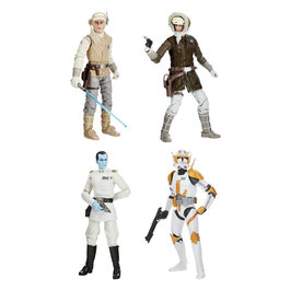Star Wars Black Series Archive Actionfiguren 15cm 2021 50th Anniversary Wave 1 komplett 4xFiguren Hasbro