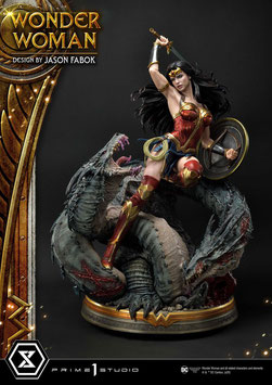 Wonder Woman vs. Hydra 1/3 Wonder Woman DC Statue 81cm Prime 1 Studio