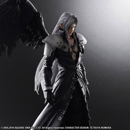 Sephiroth 1/7 Final Fantasy VII Advent Children Play Arts Anime Game Statue 26cm Square Enix