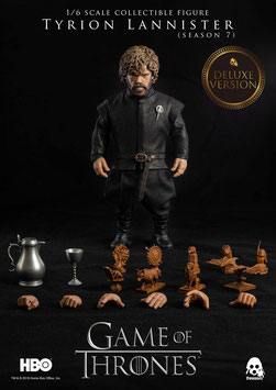 Tyrion Lannister Deluxe Season 7 1/6 Game of Thrones 22cm Actionfigur Threezero