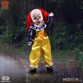 Pennywise Living Dead Dolls Stephen Kings Es Puppe 25cm Actionfigur Mezco Toys