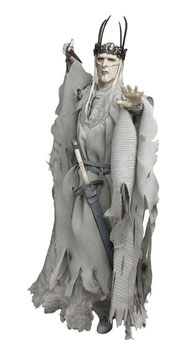 Twilight Witch-King 1/6 Herr der Ringe Mittelerde Actionfigur 30cm Asmus Toys