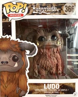 "Ludo 6"" Super Sized Funko Pop! Die Reise ins Labyrinth Movies Vinyl Figur 15cm"