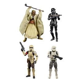 Star Wars Black Series Archive Actionfiguren 15cm 2021 50th Anniversary Wave 2 komplett 4xFiguren Hasbro