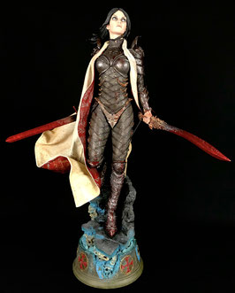 Shard Mortal Trespasser 1/4 Premium Format Statue 58cm Court of the Dead Sideshow Ts-Collectibles bloody repaint