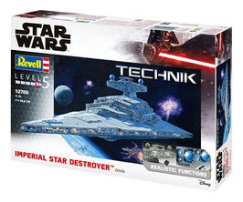 Imperial Star Destroyer 1/2700 Star Wars Bausatz mit Sound & Leuchtfunktion 59cm Revell