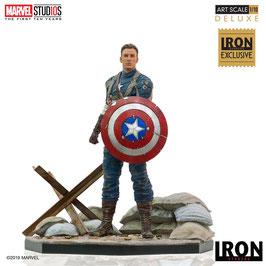 Captain America First Avenger 1/10 MCU Marvel Comics BDS Art Scale Statue 10 Years Event Exclusive 21cm Iron Studios