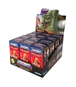 Castle Grayskull Blind Box Display Masters of the Universe ReAction Actionfiguren 10cm (12St) Super7