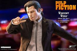 Vincent Vega 2.0 (Pony Tail) Deluxe Version 1/6 Pulp Fiction My Favourite Movie John Travolta Meme Actionfigur 30cm Star Ace