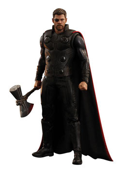 Thor 1/6 Avengers Infinity War Marvel Movie Masterpiece 32cm Actionfigur Hot Toys