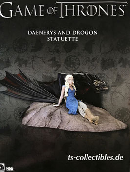 Daenerys and Drogon Game of Thrones Resin Statue 18x23x8cm Dark Horse
