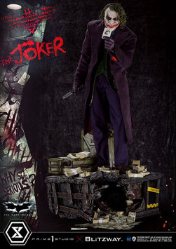 The Joker Bonus Version 1/3 Batman - The Dark Knight DC Statue 72cm Prime Studio
