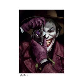 Joker - The killing Joke DC Fine Art Print Ben Oliver 46 x 61cm Giclee ungerahmt Sideshow