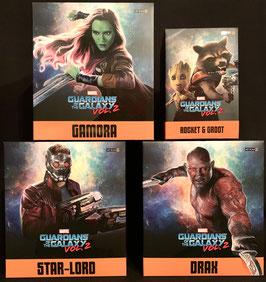 Guardians of the Galaxy 2 Diorama 4xFiguren Marvel Star Lord, Rocket & Groot, Gamora, Drax 1/10 Bds Art Scale Set Iron Studios