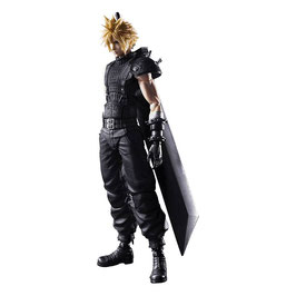 Cloud Strife Ver. 2 Final Fantasy VII Remake Play Arts Kai Video Game Actionfigur 27cm Square Enix