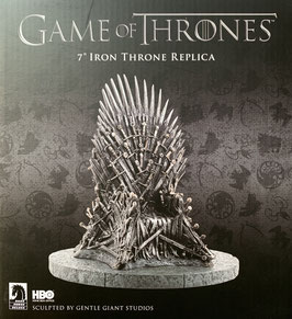 "Eiserner Thron 17,5cm Game of Thrones: Iron Throne 7"" Resin Statue Dark Horse / Gentle Giant"