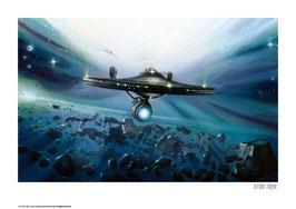 Star Trek - The Escape 42 x 30cm - ungerahmt Art Print Fanatik