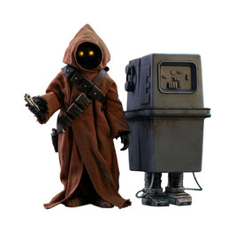 Jawa & EG6 Power Droid 1/6 Actionfiguren Star Wars Episode IV Doppelset Hot Toys