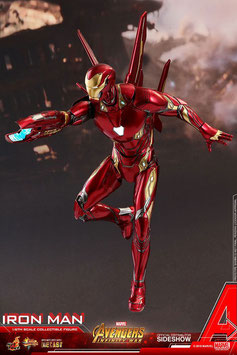 Iron Man L MK50 Diecast 1/6 Avengers Infinity War Actionfigur 32cm Movie Masterpiece Hot Toys MMS473-D23