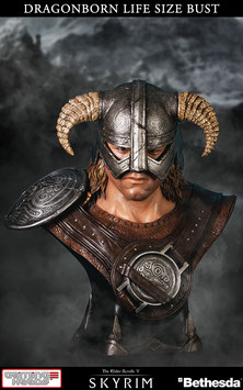 Dragonborn 1/1 Life Size Büste 64cm The Elder Scrolls - Skyrim Gaming Heads