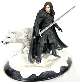 Jon Snow and Ghost 1/6 Deluxe Game of Thrones 33 Resin Statue Dark Horse / Gentle Giant