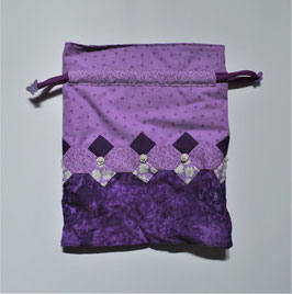 Teeny Tote Purple
