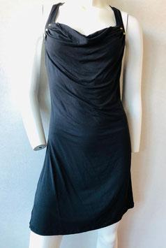 Schwarzes Trägerkleid mit Nieten, von Ausbade