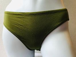 Olivgrüner Bikini-Slip von Veronica Verde / Größe 40