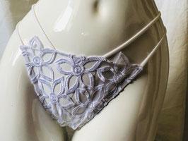 Weißer Blüten-String von Christies / Größe 38
