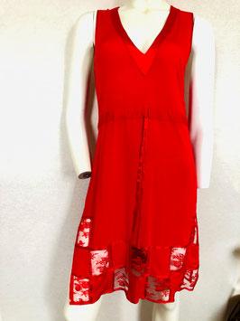 Rotes Nachthemd von Gattina / Größe 40/42