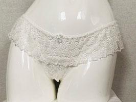 Weiße String-Short von Mimi Holliday / Größe M